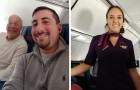 Ein Vater bucht 6 Flugtickets, um die Ferien mit seiner Tochter zu verbringen, die Flugbegleiterin ist