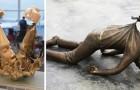 14 Skulpturen, die sich der Schwerkraft widersetzt haben und den Kampf gegen sie gewonnen haben