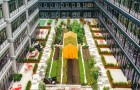 Deze woonwijk heeft een stadstuin van bijna 500 vierkante meter: de foto's zijn adembenemend