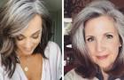 20 donne che non si vergognano più di mostrare i loro capelli bianchi al mondo