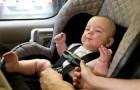 I bambini non dovrebbero mai trascorrere più di un'ora e mezza nel seggiolino dell'auto: ecco perché