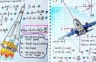 Deze natuurkundeleraar transformeert formules in kunst... en het resultaat maakt dat je terug naar school wilt gaan