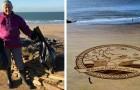 Une dame de 70 ans a nettoyé 52 plages de déchets plastiques en un an