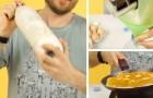 Come preparare delle crepes perfette usando una semplice bottiglia di plastica