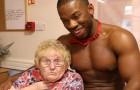 Uma vovó decide festejar os seus 89 anos com garçons