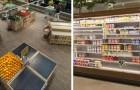 So wären Supermärkte ohne Bienen: Hunderte von fehlenden Produkten und leere Regale
