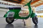 Hier komt de kit om de legendarische vintage Vespa te transformeren in een elektrische scooter zonder uitstoot