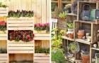 Come trasformare le cassette di legno in stupende decorazioni per il giardino: 20 idee per ispirarsi