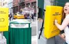 A Manhattan hanno installato dei sacchi da boxe per sfogare la propria frustrazione repressa