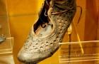 Vor 2000 Jahren haben die alten Römer die Damenmode vorweggenommen: Dieser alte Schuh ist ein Beweis dafür