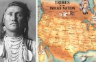 La carte des tribus amérindiennes : un morceau d'histoire qui n'apparaît JAMAIS dans les livres scolaires