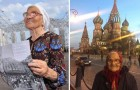 This 89-year-old grandmother travels the world with a backpack and a walking cane: she wants to spend her retirement creating memories