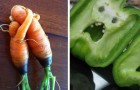 20 unglaubliche Gemüse, die zu posieren und zum Leben erweckt scheinen