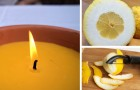 Candele al limone anti-zanzare: il metodo facile per prepararle in casa