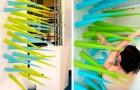 Un'artista ha creato una doccia