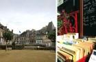 Das mittelalterliche Dorf hat 700 Einwohner und 15 Buchhandlungen: ein Paradies für jeden Leser!