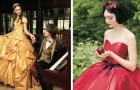 Disney ha creato una linea di abiti da sposa ispirati alle sue principesse: per un vero matrimonio da favola!