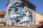 Der italienische Künstler kombiniert Graffiti und optische Illusionen: Es ist unmöglich, seine Werke auf den ersten Blick zu verstehen