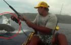 Um dia de pesca que este homem nunca vai esquecer