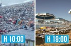 L'operatività record della Riviera Romagnola: 8 ore dopo il nubifragio le spiagge sono in perfetto ordine