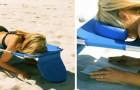 Amazon biedt een strandbed te koop aan speciaal voor liefhebbers van boeken