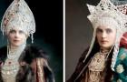 Een kunstenaar heeft deze oude foto's van de Romanovs, de laatste Tsaren van Rusland, gevonden en ingekleurd