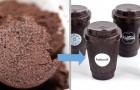 Dit Duitse bedrijf maakt van koffiedik stevige koppen die herbruikbaar en 100% milieuvriendelijk zijn
