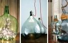 19 spunti per trasformare le vecchie damigiane in piccoli capolavori di design