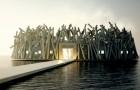 Questo albergo galleggiante vi permetterà di ammirare l'aurora boreale immersi nella natura