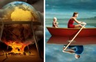 10 surrealistische illustraties die de donkere kanten van de hedendaagse samenleving ontmaskeren