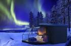 Questo igloo moderno ti permette di ammirare l'aurora boreale direttamente dalla camera da letto