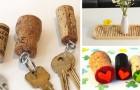 Tappi delle bottiglie: 33 idee brillanti per riutilizzarli