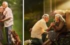 Ce photographe dresse le portrait de couples âgés comme si c'était leur premier jour de fiançailles