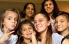 Esta garota criou sozinha os seus 5 irmãos depois que seus pais morreram de câncer