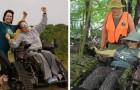 In questo parco i disabili possono sfrecciare su dei