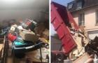 De bewoners laten het huis vol afval achter: de eigenaar neemt wraak door het voor hun nieuwe woning neer te gooien
