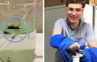 Een 17-jarige student heeft ontdekt hoe je met magneten microplastics uit water kan verwijderen