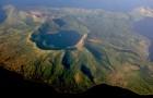 Vulcan Point is een eiland in een vulkaan die zich op een eiland bevindt dat zich in een vulkaan bevindt