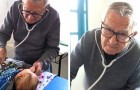 Deze 92-jarige kinderarts behandelt arme kinderen gratis, alsof het zijn kleinkinderen zijn
