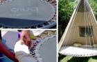 Trasformate i vostri tappeti elastici in comode altalene da giardino in pochi e semplici passi