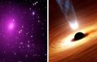 Astronomen ontdekken een enorm zwart gat dat wel 40 miljard keer zo groot is als de zon