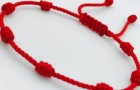 Here is the meaning of wearing a red thread bracelet with seven knots on your left wrist
