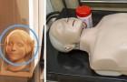 Het gezicht van de mannequin voor hartmassage was het model van een Franse vrouw die in de negentiende eeuw is verdronken