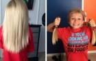 Cet enfant se fait pousser les cheveux pendant 2 ans et les donne ensuite aux autres enfants qui en ont besoin