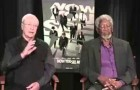 Morgan Freeman si addormenta durante un'intervista