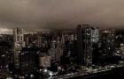 In Sao Paulo, Brasilien, ist es tagsüber Nacht: Der Himmel wird durch die Feuer im Amazonasgebiet verdunkelt
