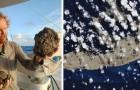 Een zee van vulkanisch gesteente dringt de Stille Oceaan binnen en gaat richting Australië: daarom is dit goed nieuws