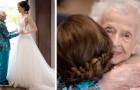 A 103 ans, elle ne peut pas aller au mariage de sa petite-fille, mais la surprise qu'elle reçoit est vraiment émouvante