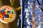 I vecchi mobili Ikea diventano rifugi per animali selvatici: l'idea anti-spreco di uno studio di design