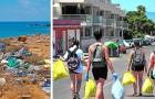 Deze jongeren hebben een WhatsApp-groep opgericht om straten, parken en stranden in hun stad op te ruimen